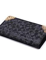 Women Bags PU Clutch Zipper for Casual All Season Gold Black Silver