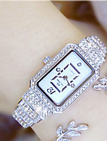 Women's Fashion Watch Unique Creative Watch Pave Watch Japanese Quartz Water Resistant / Water Proof Colorful Stainless Steel Band