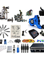Professional Tattoo Kit Amen 3 Tattoo Machines  WildFire  Power Supply Inks Not Included