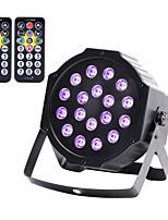 U'King Lampe LED de Soirée DMX 512 Master-Slave Activé par son Auto Télécommande A Pied pour Extérieur Soirée Boîte de Nuit Professionnel