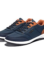 cheap -Men's Shoes Breathable Mesh Spring Fall Light Soles Sneakers For Casual Black/Red Dark Grey Dark Blue