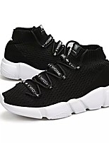 cheap -Men's Shoes Tulle Spring Fall Comfort Sneakers For Casual Black Gray