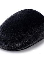 Недорогие -Для мужчин На каждый день Лыжная шапочка,Зима Полиэстер Один цвет Чистый цвет