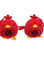 Stuffed Toys Toys Chicken Animals Cartoon Animal Shape Animal Holiday New Year's Chicken & Chick Holiday Fashion Animal Girls 1 Pieces