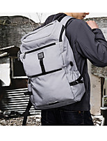 Men Bags All Season Cotton Backpack Pockets for Casual Black Gray