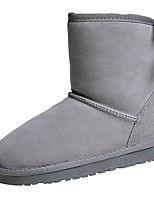 cheap -Women's Shoes Rubber Winter Snow Boots Boots Round Toe For Outdoor Pink Gray Beige Black