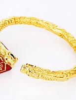 Недорогие -Жен. Браслет цельное кольцо Браслет разомкнутое кольцо Животные азиатский Подарок Милый Мода Позолота Бижутерия Назначение Свадьба
