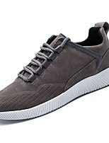 cheap -Men's Shoes PU Spring Fall Comfort Sneakers for Casual Gray Black/White