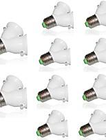10pcs Lamp Holder Converter Socket Conversion with Fireproof Material E27 to 2 E27 Bulb Base type 2E27 Y Shape Splitter Adapter 220-240V