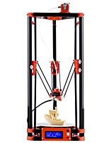 FLSUN Delta 3D Printer Large Print Size 180*180*315mm 3d-Printer Pulley Version Kossel Large Printing Size Auto Leveling with Heated Bed