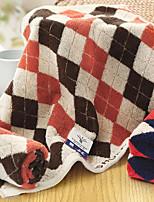 Style frais Essuie-mains,Carreaux Qualité supérieure Pur Coton Serviette