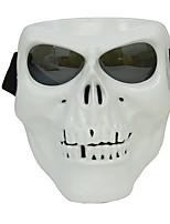 maschera facciale di plastica di protezione di scheletro del cranio protettivo di plastica all'aperto