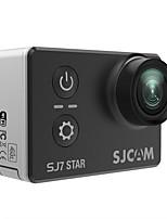 D'origine sjcam sj7 star 2.0 pouce tactile écran 166 degrés fov 12mp détection de mouvement télécommande wifi 4 k caméra d'action