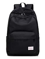 Men Bags Canvas School Bag Zipper for Outdoor All Season Blushing Pink Dark Blue Dark Grey Light Grey Sky Blue