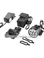 abordables -Lampes Frontales LED 10000 lm 1 Mode LED Rechargeable Camping/Randonnée/Spéléologie Cyclisme Chasse Pour astronomie Escalade
