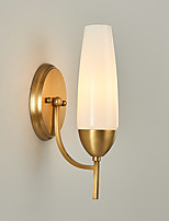American Country Glass Wall Sconce Northern Europe Modern Simplicity Living Room Bedroom