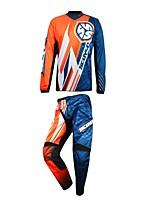 los hombres de la motocicleta traje de la camiseta pantalones antideslizantes ropa resistente al desgaste t-shirt protector de los artes