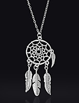 Women's Pendant Necklaces Wings / Feather Alloy Tassel Bohemian Jewelry For Gift Daily