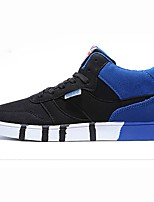 cheap -Men's Shoes PU Spring Fall Comfort Sneakers For Casual Black/Blue Black/Red Red