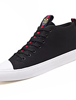 cheap -Men's Shoes Synthetic Microfiber PU Winter Light Soles Sneakers for Casual White Black