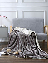 Super Soft,Handmade Solid Poly/Cotton Blankets