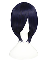 14inch Short Blue Tokyo Ghoul Touka Wig Synthetic Anime Cosplay Hair Wigs CS-195B