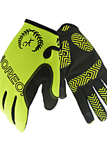 cheap -Sports Gloves Bike Gloves / Cycling Gloves Wearable Breathable Skidproof Full-finger Gloves Silicone Nylon Road Cycling Cycling / Bike