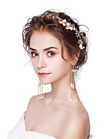 Women's Headwear Drop Earrings Imitation Pearl Fashion Alloy For Wedding Party Wedding Gifts