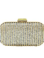 cheap -Women Bags Polyester Evening Bag Sequins for Wedding Event/Party All Season Champagne Gold Black Silver