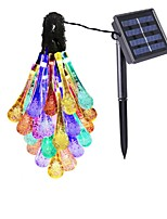 cheap -Solar Outdoor Garden Landscape Lamp 30LED Festival Wedding Courtyard Decoration Energy-Saving Lantern 2V 100MA 1Pcs