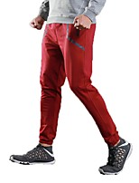 Men's Running Pants Pants / Trousers Running/Jogging Exercise & Fitness Terylene Black Red S M L XL XXL