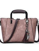 cheap -Women Bags PU Tote Zipper for Wedding Formal All Season Red Blushing Pink Gray Purple Brown