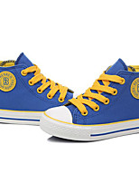 Boys' Shoes Canvas Fall Winter Comfort Sneakers For Casual Royal Blue Dark Blue Black White