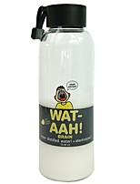 abordables -Deporte Oficina / Carrera Artículos para Bebida, 500 Vaso de boro alto Té Jugo Agua Vidrio Vaso