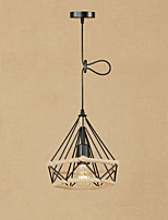 Retro/Vintage Lantern Country Pendant Light For Dining Room Hallway Shops/Cafes AC 110-120 AC 220-240V Bulb Not Included