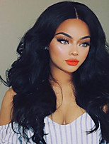 cheap -New Style Brazilian Human Hair Lace Front Wig Factory Price Natural Wave Lace Front Natural hair wigs with Baby Hair For Black Woman