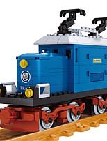 Building Blocks Train Crane Toys Train Vehicles DIY Boys 724 Pieces