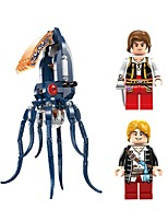 cheap -GUDI Building Blocks Toys Octopus Beach Theme Animals Nautical Pirates Non Toxic Octupus Monster Kids Adults' Boys' 231 Pieces