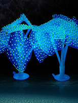 Оформление аквариума Медуза Искусственная Украшение кремнийорганическая резина