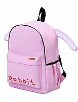 Women Bags Oxford Cloth School Bag Zipper for Casual All Seasons White Blushing Pink Brown