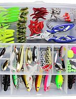 preiswerte -1 stücke locken packs g / unze mm zoll, kunststoff seefischerei köder casting spinning jigging fischköder angeln allgemeine angeln