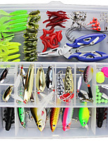 cheap -1 pcs Lure Packs g/Ounce mm inch,Plastic Sea Fishing Bait Casting Spinning Jigging Fishing Lure Fishing General Fishing