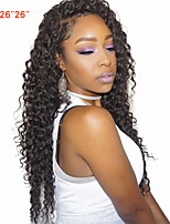 Human Hair Peruvian Natural Color Hair Weaves Hair Extensions 1pc Black