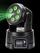 U'King Eclairage Laser de Scène Lampe LED de Soirée DMX 512 Master-Slave Activé par son Auto Télécommande 60 pour Extérieur Soirée Etape