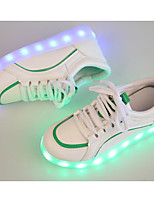 Boys' Shoes PU Spring Fall Comfort Sneakers For Casual Pink Green Black