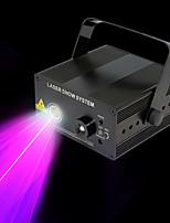 U'King Eclairage Laser de Scène DMX 512 Master-Slave Activé par son 9 pour Extérieur Soirée Etape Mariage Boîte de Nuit Professionnel