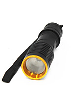cheap -ANOWL 6250 LED Light - 350 lm 3 Mode - Portable Easy Carrying Everyday Use Golden+Black