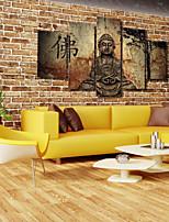 Conjuntos de Lona Clássico,5 Painéis Tela Estampado Decoração de Parede For Decoração para casa