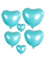 cheap -10pcs - 10inch Skyblue Heart Shaped Balloons Beter Gifts® DIY Party Decoration