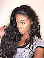 cheap -Long Loose Wave Full Lace Wig 100% Human Virgin Hair 130% Density Natural Color Wig for Black Women